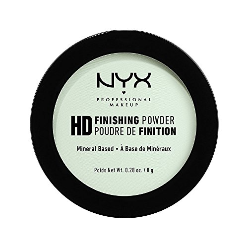 NYX PROFESSIONAL MAKEUP High Definition Finishing Powder, Mint Green, 0.28 Ounce