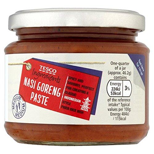 Tesco Ingredients Nasi Goreng Paste 185g Amazoncouk Grocery