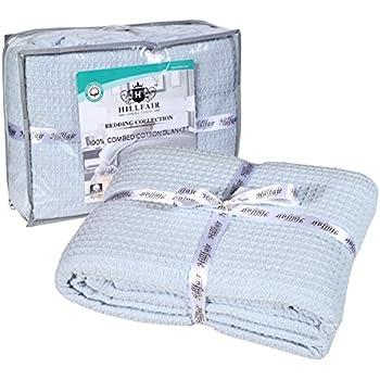 Amazon Com Mocasa 100 Cotton Throw Blanket Super Soft