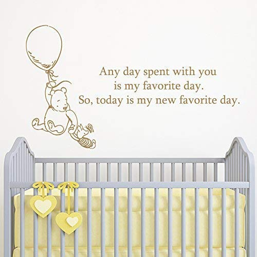 Amazon.com: Winnie the Pooh and Piglet Quote Wall Decal ...