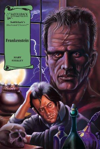 Frankenstein-Illustrated Classics-Read Along (Saddleback's Illustrated Classics)