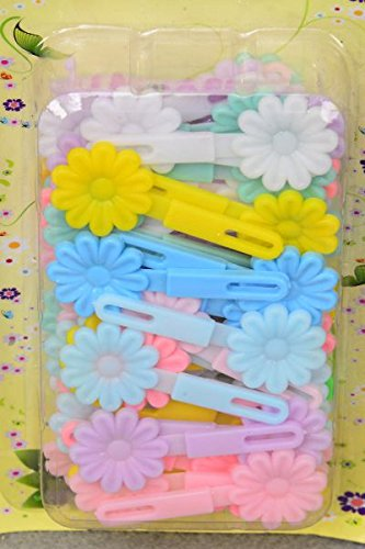 Amazon.com   Toddler Hair Barrettes Small Daisy Flowers- Hair Clips  (Pastel)   Beauty c8139501277