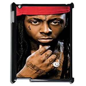 LSQDIY(R) Lil Wayne iPad2,3,4 Phone Case, Cheap iPad2,3,4 Hard Back Case Lil Wayne