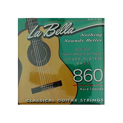 La Bella 860 Sets (Nylon wound 2nd & 3rd)