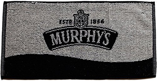 Murphys Irish Stout Black Cotton Bar Towel ()