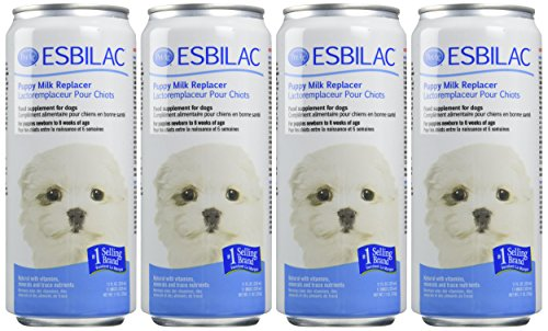 ((4 Pack) Esbilac Liquid For Puppies, Milk Replacer - 11 Ounces Each )