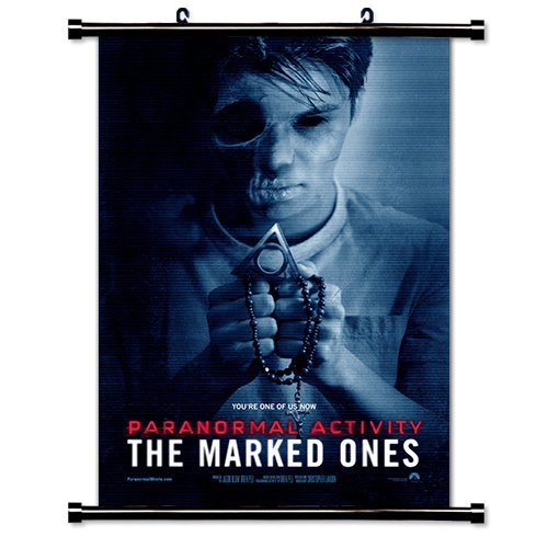 Paranormal Activiy: The Marked Ones Movie Fabric Wall Scroll Poster (16'' x 23'') Inches by MovieWallscrolls