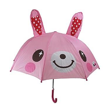 Sweet Home paraguas del cabrito vinsani tiempo headphonics conejo niños palillo paraguas