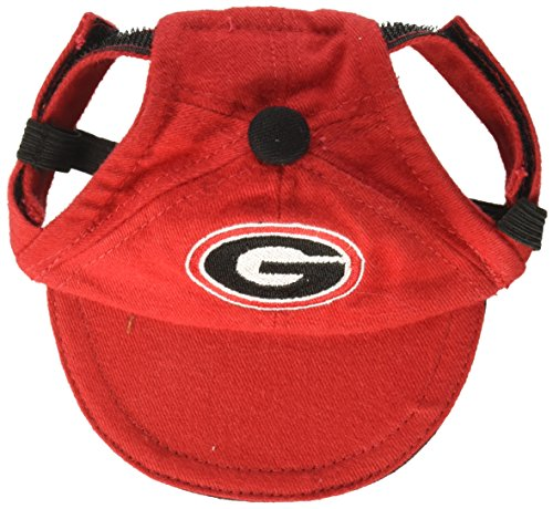 Sporty K9 Collegiate Georgia Bulldogs Dog Cap, X-Small