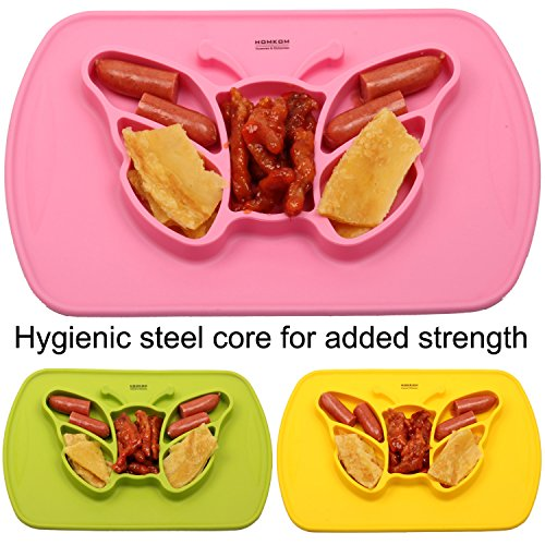 homkom-one-piece-premium-silicone-kids-placemat-baby-feeding-mat-fits-most-highchair-trays-dinnerwar