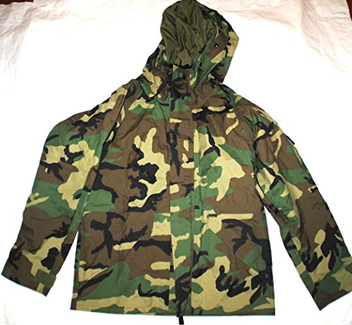 Us Army Issue Ecwcs Gore Tex Woodland Camouflage Cold Wea...