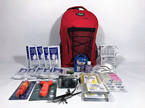 3 Day 2 Person Emergency Survival Disaster Kit with Food, Water and Supplies