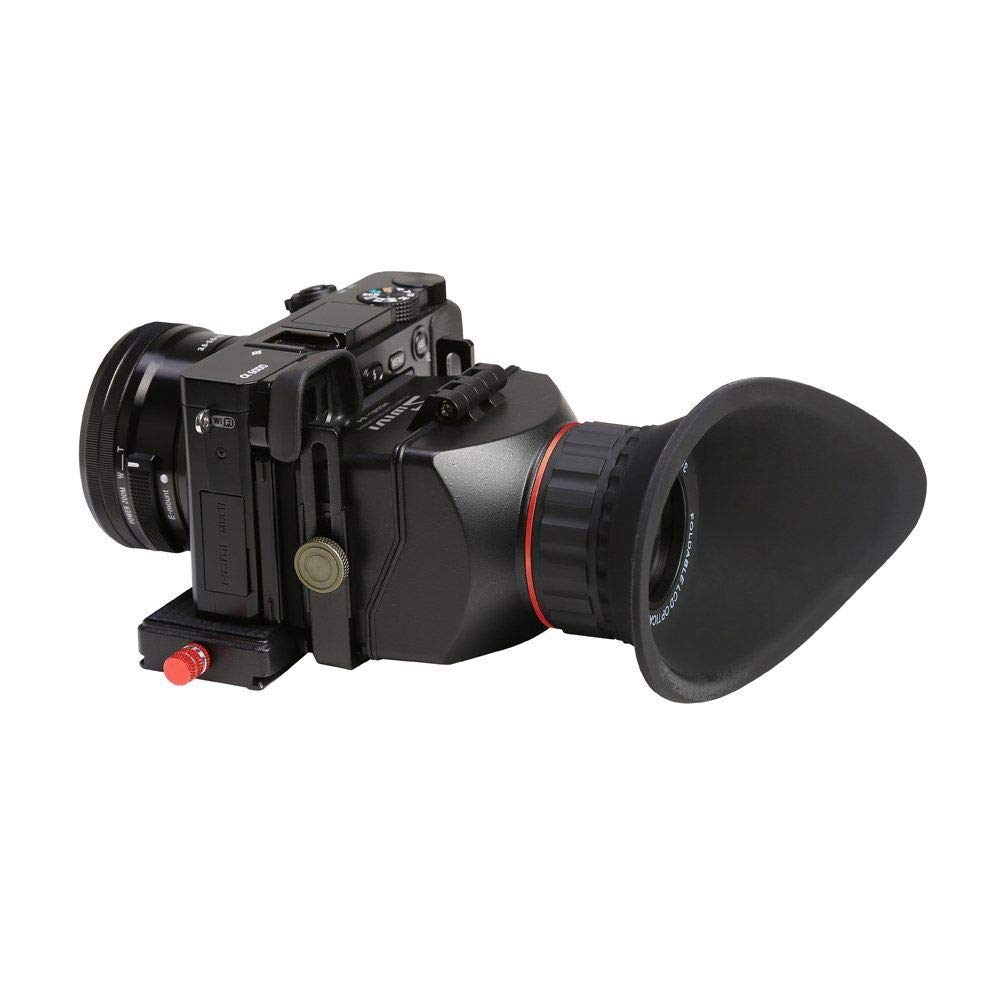 GGS Swivi S4 3.0X 3.0 16:9 Optical LCD Camera Viewfinder for Sony A6000 A5000