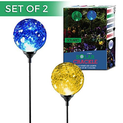 crackle ball solar lights instructions