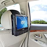 WANPOOL Car Headrest Mount Holder for 10 Inch Swivel Screen Style Portable DVD Player (DVD Player is not included)