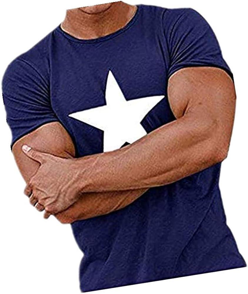 Berimaterry Camiseta Hombre, Camiseta de Cráneo Hombre Militares ...