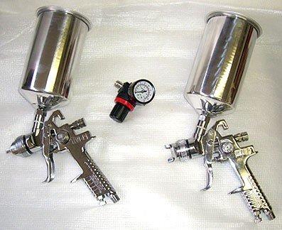 [해외]3 개 HVLP 스프레이 건 키트/3 Pcs HVLP Spray Gun Kit