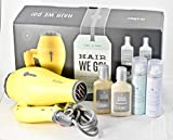 Drybar First Class Hair We Go! Travel Essentials Set - Baby Buttercup, Sake Bomb, Detox Dry Shampoo and Conditioner