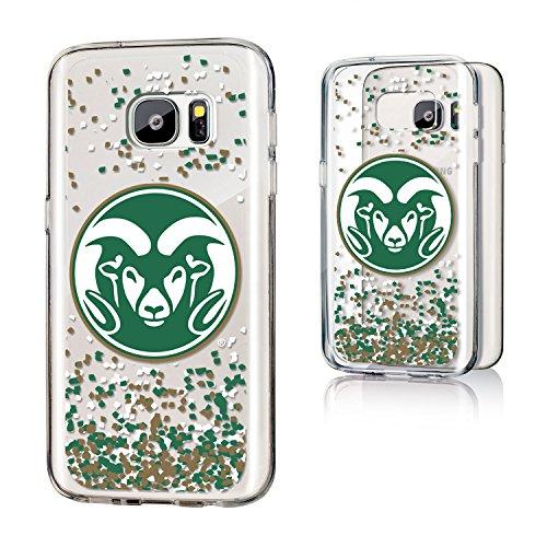 Keyscaper NCAA Colorado State Rams Unisex Samsung Galaxy Clear Caseclear Case, Black, Galaxy S7 by Keyscaper