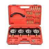 Fuel Vacuum Carburetor Synchronize Tool Kit and Adjustment Tool Kit – Carb Synchronizer Vacuum Sync Gauge Set Gs Kz 550 650 750, by Jecr