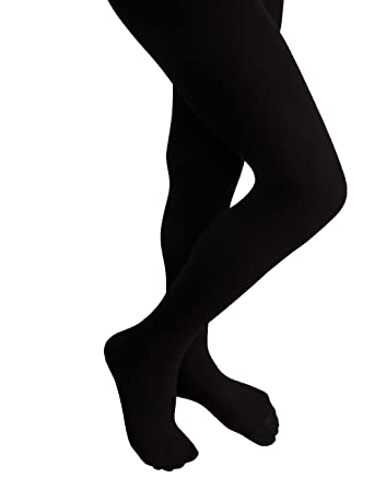 great varieties amazing selection utterly stylish Girls Cotton Tights Childrens Stockings Warm and Thick (8-10, Black)