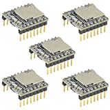 WGCD 5 PCS DFPlayer Mini MP3 Player Module for Arduino TF Card U Disk Supported