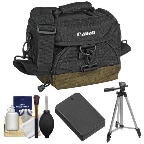 Canon 100EG Digital SLR Camera Case with LP-E12 Battery + Tr