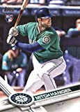 2017 Topps Series 2 #433 Mitch Haniger Seattle Mariners Rookie Baseball Card