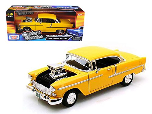 StarSun Depot 1955 Chevrolet Bel Air Yellow With