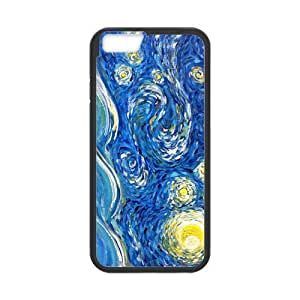 Custom Crescent Moon Design PC Case Protector For Iphone 6
