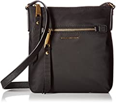 Marc Jacobs trooper ns cross body in black with zipper closure