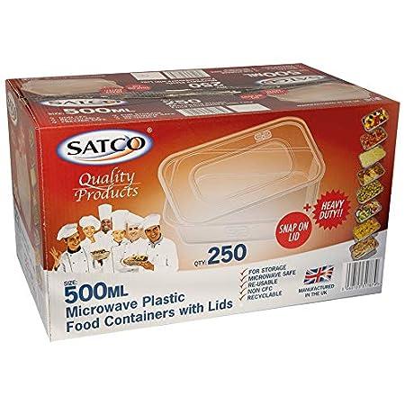 Satco - Recipiente para Alimentos con Tapa para microondas ...