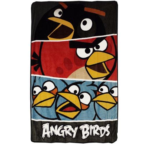 Angry Birds Micro Raschel Blanket