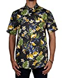 Stussy Men`s Paradise Shirt, Black, Small