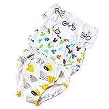 JIEYA 3-pack Modal Briefs Underwear for Baby Boys