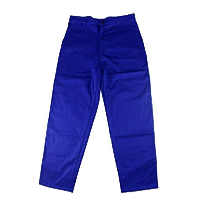 perfk Pantalones Ropa Soldadura Llama Soldador Azul Terminales Kits de Instalación Eléctrica: Amazon.es: Ropa y accesorios