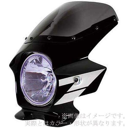 Nプロジェクト(エヌプロジェクト) ビキニカウル BLUSTERII VTR(~'07) スタンダードスクリーン(スモーク) 黒ゲルコート 23012 B001EFEGOG