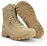 Ryno Gear Tactical Combat Boots with CoolMax Lining (Beige) (8, 11)