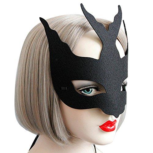 Sexy Elegant Eye Face Mask Masquerade Ball Carnival Fancy Party Decoracion Halloween Masks - Halloween Masquerade Mask ()