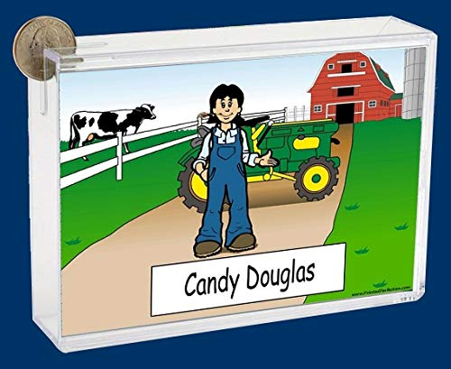 Personalized NTT Cartoon Side Slide Frame Gift: Farming Female Gift, Ranch Hand