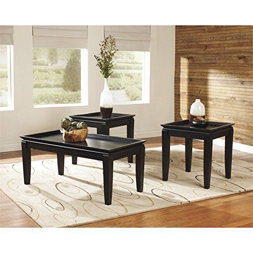 Signature Design by Ashley Delormy 3 Piece Occasional Table Set,