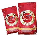 Cheap (2 Pack) Purina One Dry Dog Food Chicken and Rice Formula, 4 lb