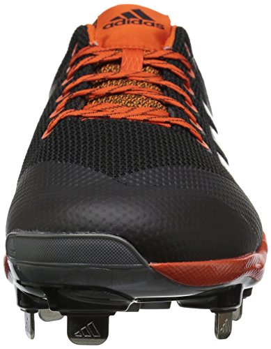 US Carbon 7 Orange Mid Freak Met Collegiate Shoe Silver Core adidas M X Mens Baseball Black ZqIFt