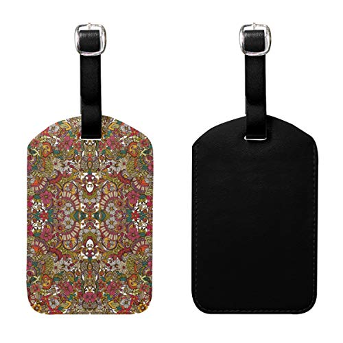 c0244ffacb JSIAHDG I Spy (Colors) Wallpaper Luggage Tags with High-Grade PU Leather  Strap