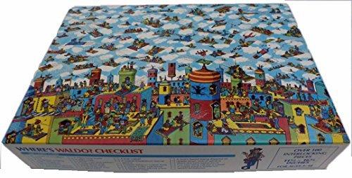 Where's Waldo The Carpet Flyers Children's Jigsaw Puzzle (Jigsaw Rug)
