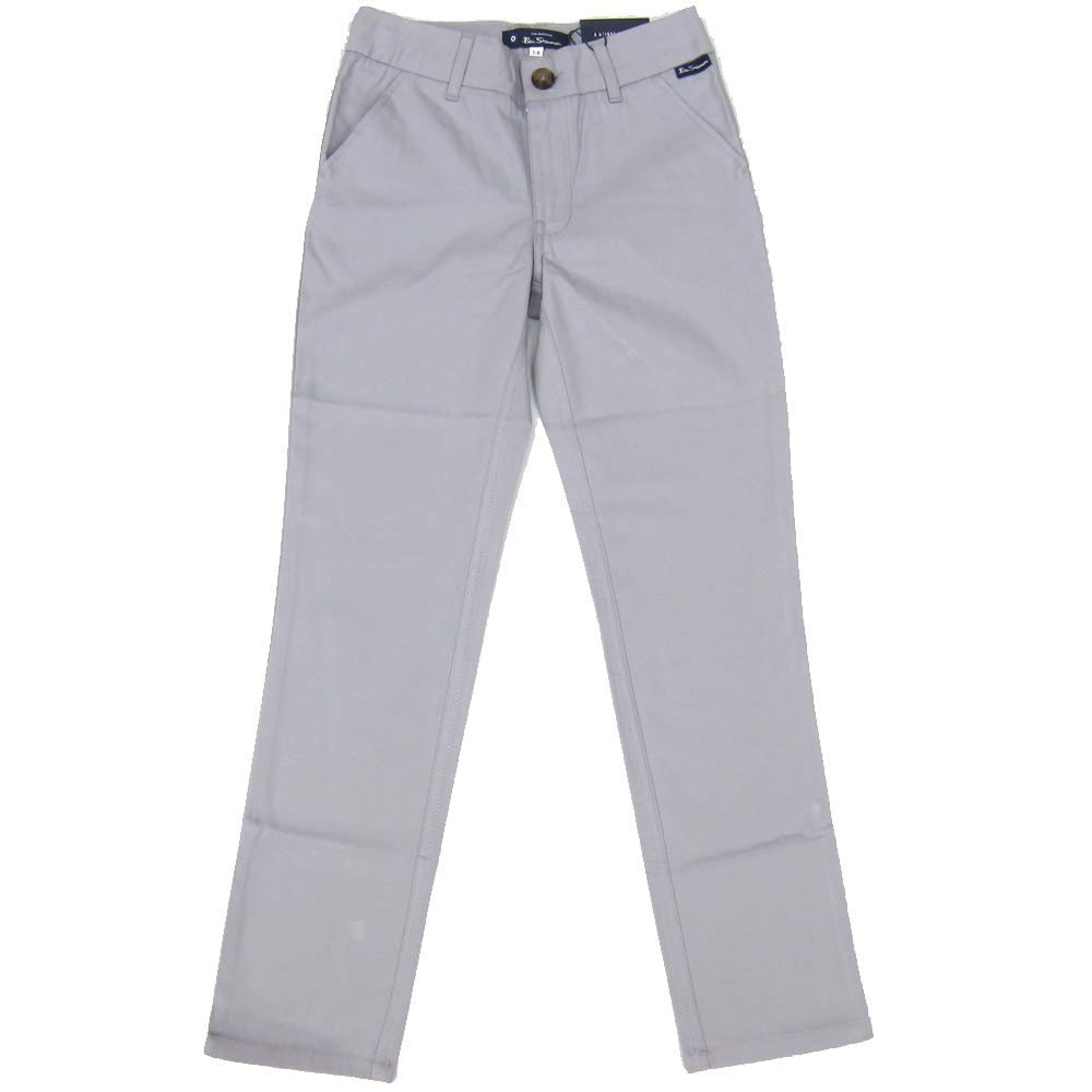 Ben Sherman Boys Chino Slim Fit Jeans Alloy Grey Ages 7//8Y 8//9Y 10//11Y and 12//13 Years