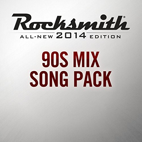 Rocksmith 2014 - 90s Mix Song Pack - PS3 [Digital Code]