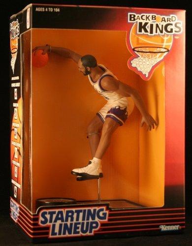 (KARL MALONE / UTAH JAZZ 1997 NBA Backboard Kings Starting Lineup Deluxe 6 Inch Figure by Starting Line Up)