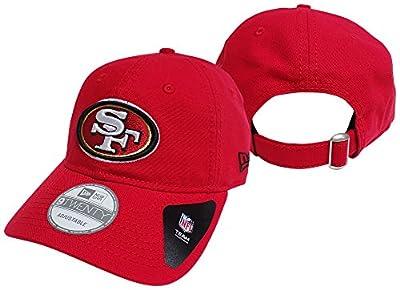 San Francisco 49ers Red Core Shore 9TWENTY Adjustable Hat / Cap from New Era