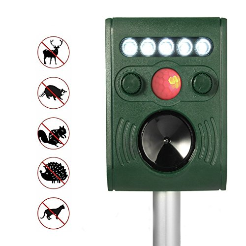 Solar Powered Mosquito Insect Bug Repellent Repeller - 3